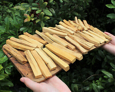 Bulk 32 Stick Lot of Palo Santo Wood (Holy Wood Incense Cleansing Blessing)