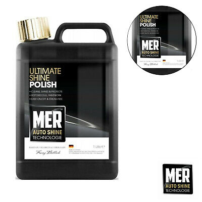 Mer NEW Ultimate Shine Car Polish Auto Technology Professional Wax 1 Litre