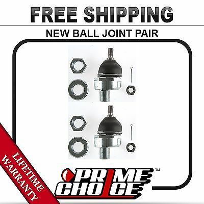 Pair (2) Front Upper Ball Joints With Lifetime Warranty