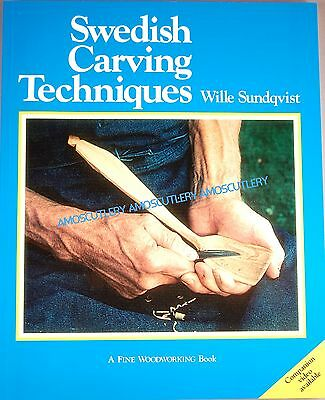 Swedish Carving Techniques Book Wille Sundqvist Wood Carved Wooden Spoon How To