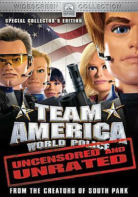 TEAM AMERICA:WORLD POLICE BY PARKER,TREY (DVD)
