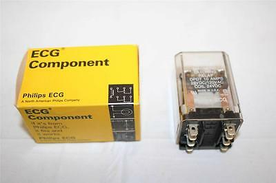 ECG Relay RLY7943 DPDT 12A 24VDC Magnetic Latching Relay New