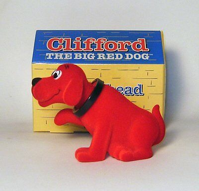 Clifford the Big Red Dog Bobble Head Figure by Scholastic