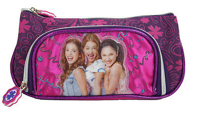 Violetta girl Purses Wallets Party Favor Cosmetic bag stationery Pen bag Purple