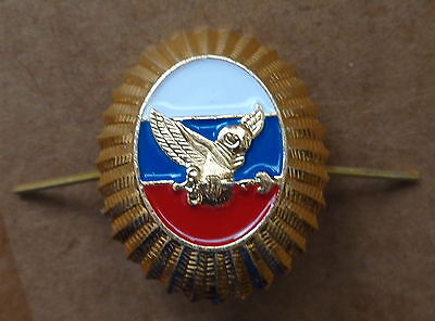 RUSSIAN    ARMY  PIN BADGE HAT  COCKADE   spetsnaz  OWL  SECURITY