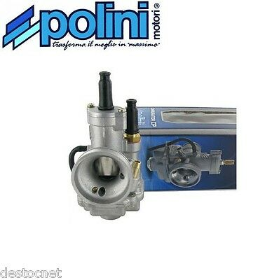 Carburateur carbu POLINI type CP Ø15 Souple Starter à cable   201.1501