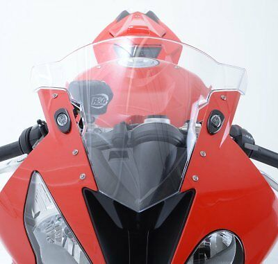 R&G Racing Mirror Blanking Plates to fit BMW S1000RR 2010-2015