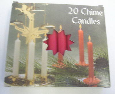 """Chime Spell Candles: Red, Mini 4"""" Box of 20 (NEW) Pagan, Wicca, Altar"""