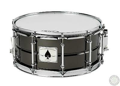 "DW PDP SX Ace 6.5"" x 14"" Snare Drum Black Chrome Over Brass PDSX6514ACE"