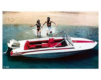 1977 Glastron V 162 Power Boat Factory Photo ud0936