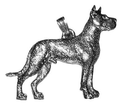 GREAT DANE Dog Harris Fine Pewter Pendant USA Made