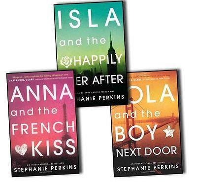 Stephanie Perkins Collection 3 Books Set Anna and the French Kiss,Lola and the..