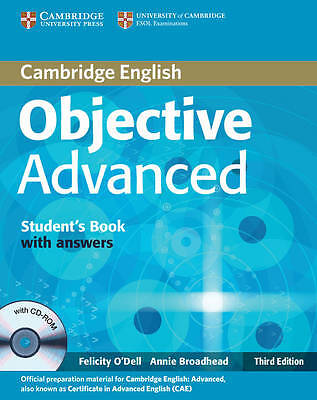 Objective Advanced Student's Book with Answers with CD-ROM, Broadhead, Annie, O'