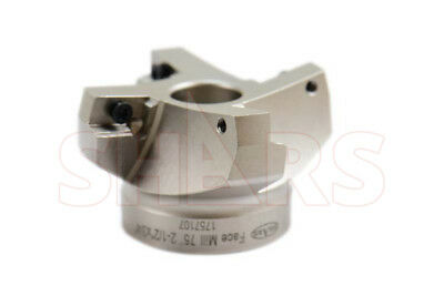 """Stop Throwing Away Used APKT 1604 2-1/2"""" 75° Indexable Face Mill New $106.50 Off"""