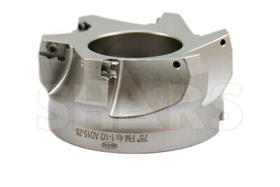 "Stop Throwing Away Used ADKT 1505 4"" 75° Indexable Face Mill New $198.99 Off"