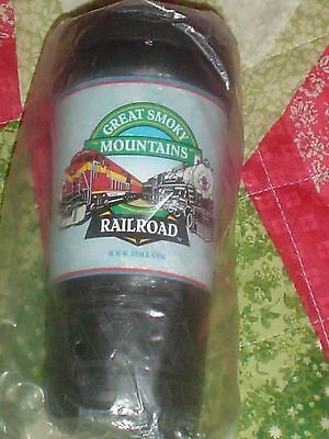 GREAT SMOKY MOUNTAINS RAILROAD TRAINS TRAVEL MUG POLAR EXPRESS CHRISTMAS RARE