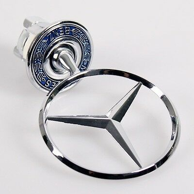 44Mm Mercedes Benz Badge W124 W202 W203 W208 W210 W211 Logo Bonnet Emblem Hood