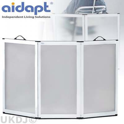 Aidapt Portascreen 3 Panel Shower Guard Portable Folding Flat Screen