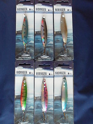 Fladen Nidingen Toby Type Lure 25G Choice Of Colours - Post Free