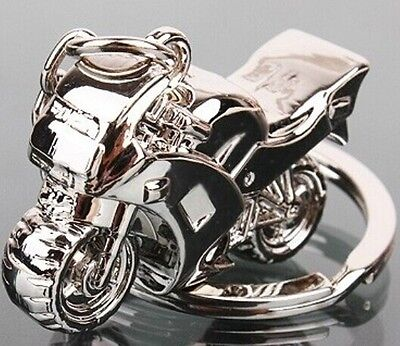 1pcs Metal motorcycle Keyrings Keychain Keyfob Lover Gift