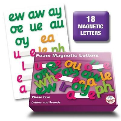 Letters and Sounds Phase 5 Foam Magnetic Letters Literacy Phonics Teaching