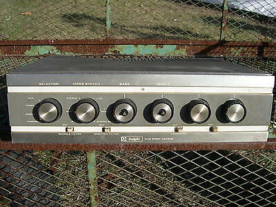 Vintage KNIGHT Stereo KA-55 Tube Amplifier for parts or repair