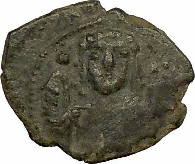 Manuel I 1143AD Ancient Authentic BYZANTINE  Coin Monogram  i17764