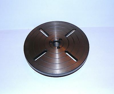 "8""  WOOD TURNING or METAL TURNING LATHE FACEPLATE , 1-1/4""  8 TPI SPINDLE"