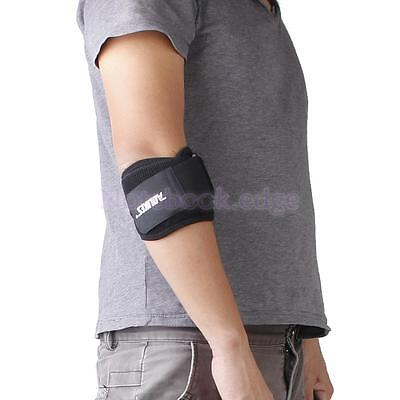 Elbow Arm Support Brace w/ Pressure Pad Guard Gym Wrap Sleeve Tennis Golf