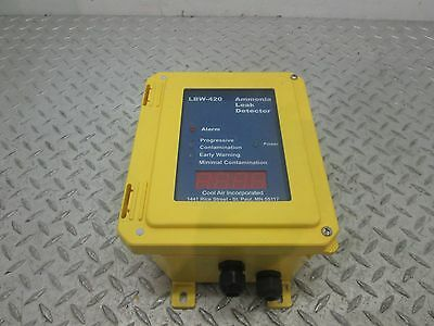 COOL AIR INCORPORATED AMONIA LEAK DETECTOR LBW-420
