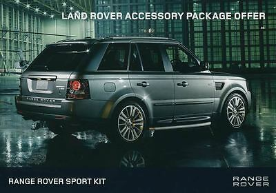 2011 Land Rover Range Rover Sport ORIGINAL Large Factory Postcard my2250