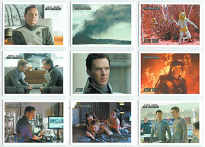 Star Trek Movies 2014 Silver Parallel Cards From The Into Darkness Set 1-54