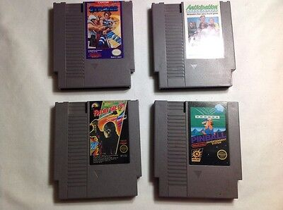 Lot Of 4: Strider, Anticipation, Friday The 13Th & Pinball Nintendo NES Games