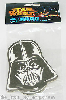 Official Star Wars Darth Vader Head Lemon Air Freshener -  Hang it in Your Car!