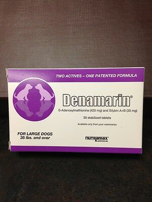 Denamarin 425mg Tablets for Large Dogs 35lb and Over #30