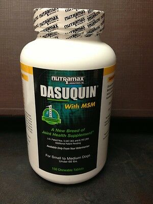 Dasuquin With MSM For Small To Medium Dogs Under 60 Lbs. 150ct Bottle