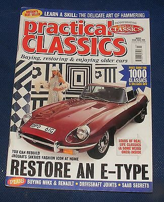 Practical Classics March 1999 - Restore An E-Type