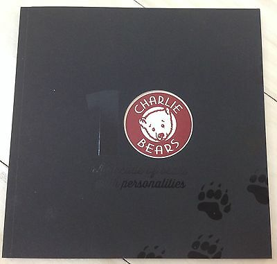 New **COLLECTABLE CHARLIE BEARS 10th ANNIVERSARY COLLECTION CATALOGUE PART 1**
