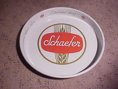 Vintage Schaefer Beer Metal Serving Tray 1950s-1960s (NM)