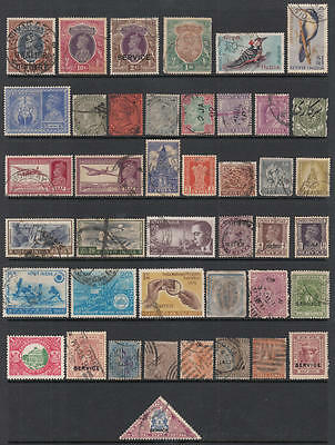 India & States pre-1970 hi val selection 46 diff states cv $97.70