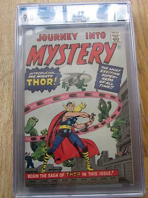 JOURNEY INTO MYSTERY (THOR) # 83  US MARVEL 1966  1st Thor golden record CGC 9.0