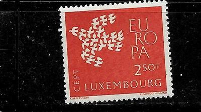 LUXEMBOURG SC #382 MINT-MNH 1961 EUROPA OLD VINTAGE COMMEMORATIVE SINGLE STAMP