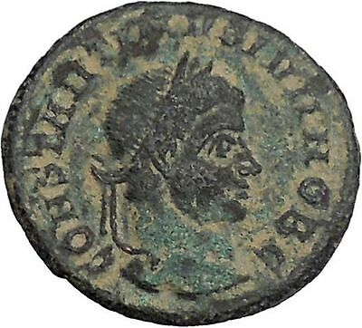 CONSTANTIUS II Constantine the Great son Ancient Roman Coin SuccessWreath i46802