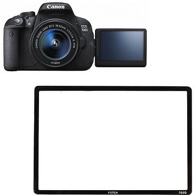 FOTGA LCD Screen Protector Save Glass Film For Canon EOS 700D Rebel T5i Kiss X7i