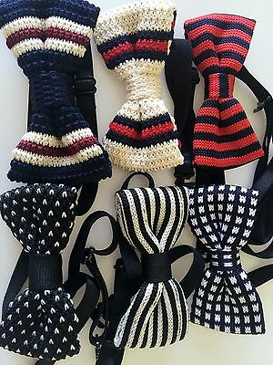 1PC Boys Kid Knitted baby Party School Pre-tied Wedding bow tie Necktie bowtie