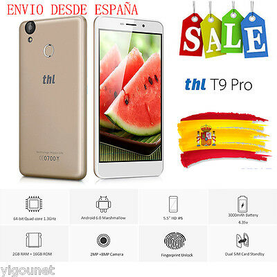 5.5 ''HD 4G LTE Touch ID Android 5.1 Móvil 13MP 2GB+32GB 2xSIM Smartphone DOOGEE
