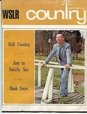 """1967 C&W Magazine: """"WSLR COUNTRY"""" Issue #1 w/ Molly Bee, Hank Snow +"""