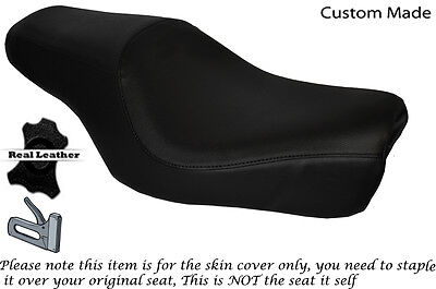 Black Stitch Custom Fits Harley Davidson Sportster 883 1200  Dualseat Cover
