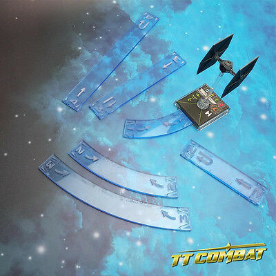 TTCombat - SWT003 - Space Wing Template (Neptune Blue)