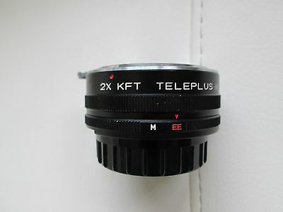 Auto Teleplus 2X Converter lens for KONICA AR mount .